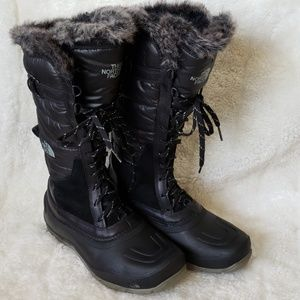 The North Face tall winter boots